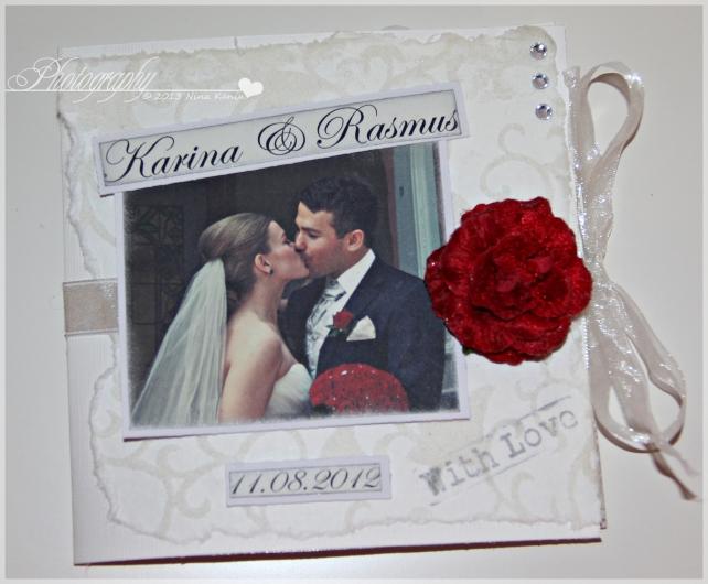 bryllupsvideokort forside