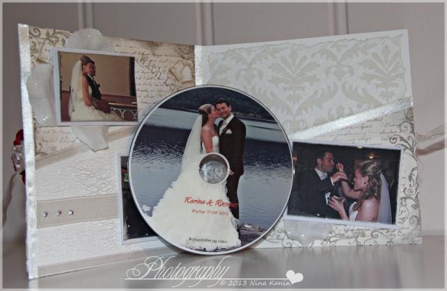 bryllupsvideokort innsiden cden
