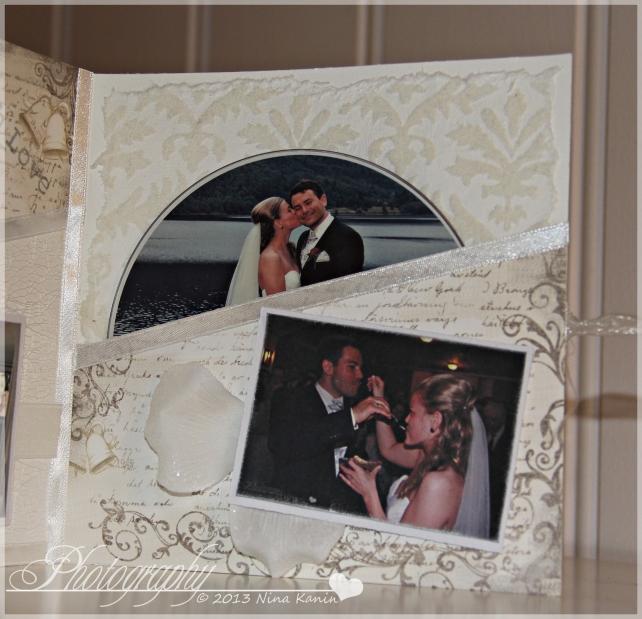 bryllupsvideokort innsiden høyre