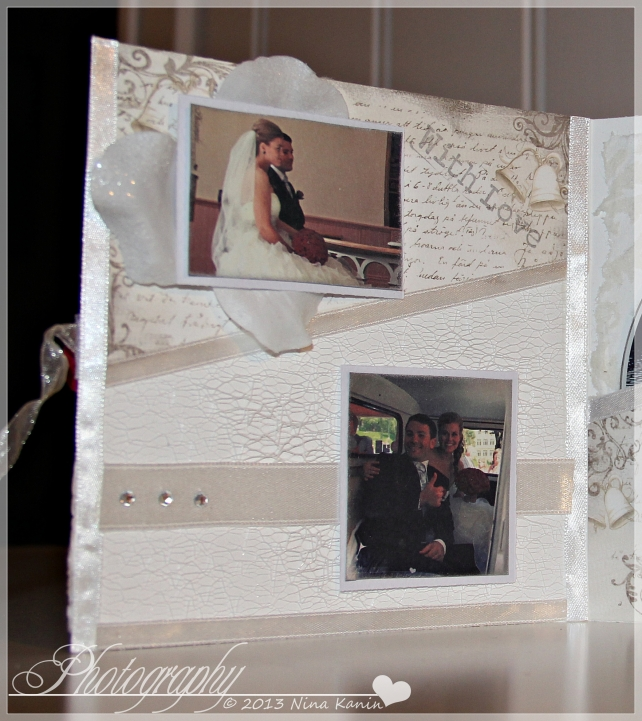 bryllupsvideokort innsiden venstre