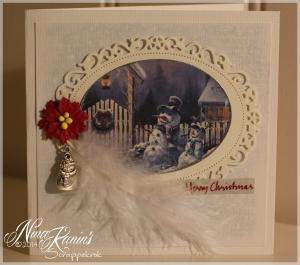 Kort nr 77 - Julekort 2013 vintage 5