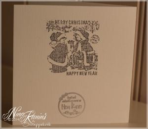 Kort nr 77 - Julekort 2013 vintage baksiden