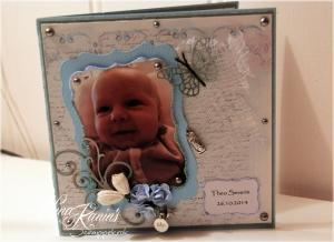 kort 103 dåpskort forside